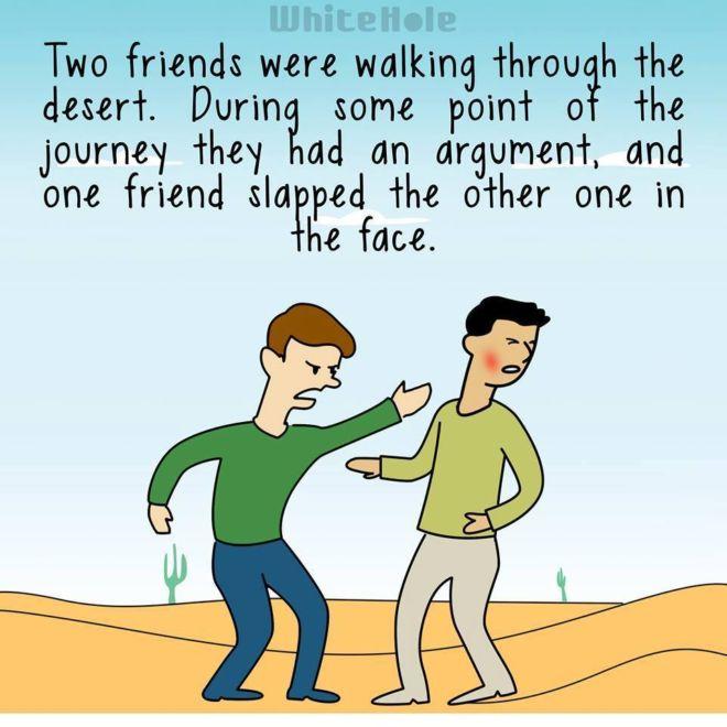 An Impressive Friendship Story | Funotic.com