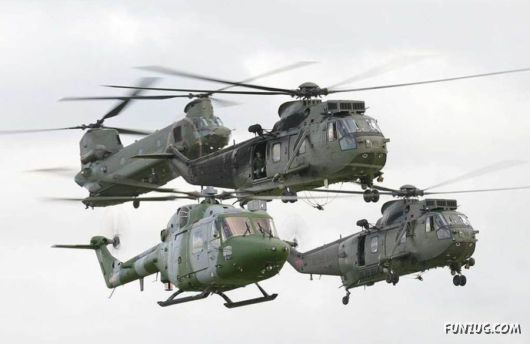 Dances With The Helicopters