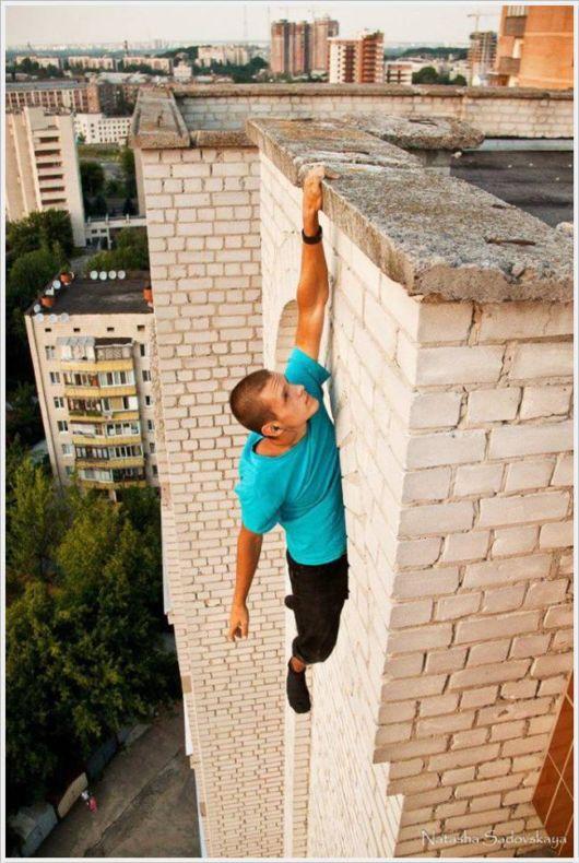 Fearless Daredevil From Kyiv, Ukraine