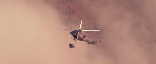 Man Using A Jetpack Performs Epic Stunts Above Dubai