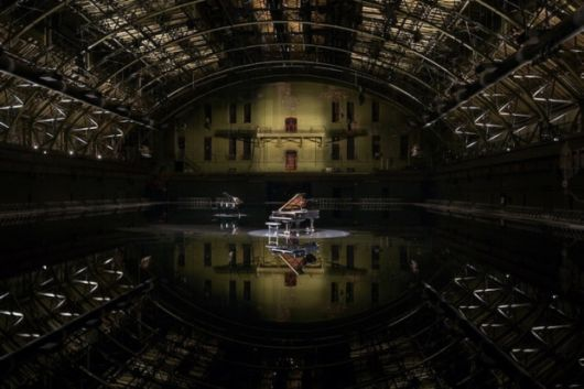 Transforming Indoor Space Into A Reflective Lake