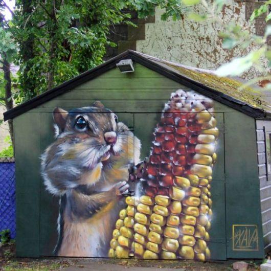 Street Artist Transforms Building Facades Into Amazing Artworks