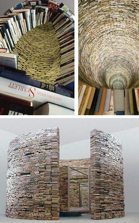 Amazing Book-Art Pieces