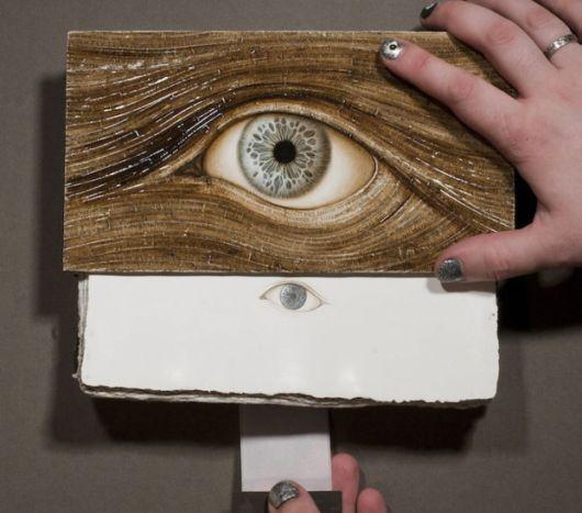 Handmade Books That Feature Striking Eye Illustrations