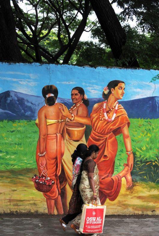 Amazing Indian Street Paintings