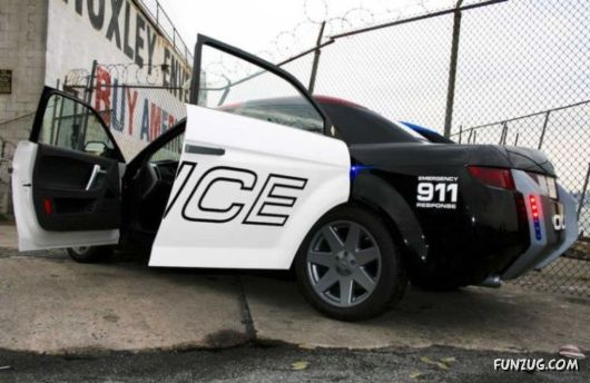 Police Car Of The Future