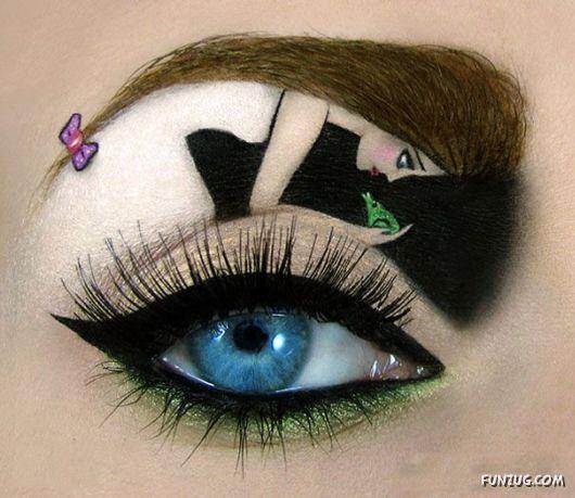 Creative Imaginative Makeup Art