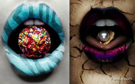 Craziest Lip Art Designs