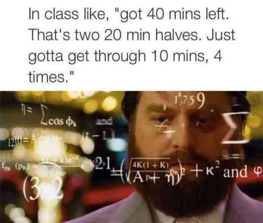 Pictures Showing What Its Like To Be Bad At Math