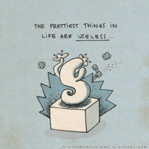 Funny Illustrations On Simple Facts Of Life