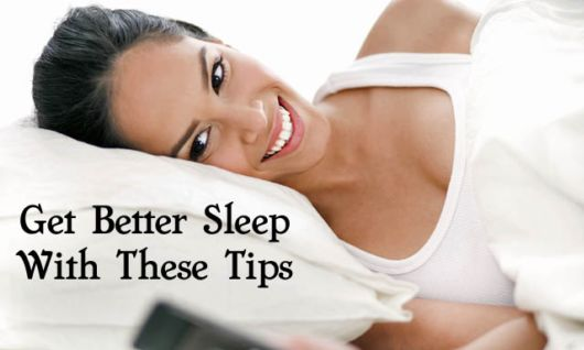 10 Tips For Sleeping Better