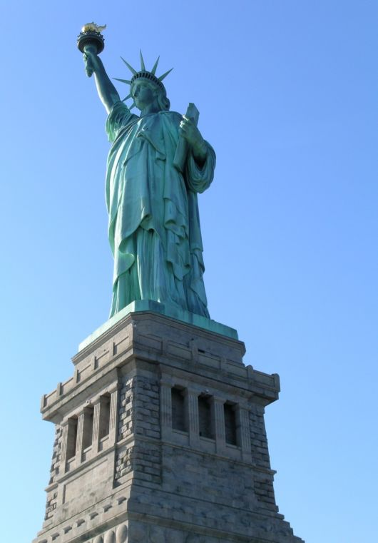 The Statue of Liberty, New York City