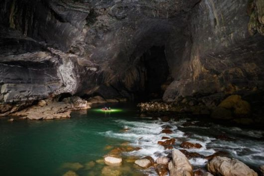 Incredible Photos Inside The Worlds Largest Active River Cave