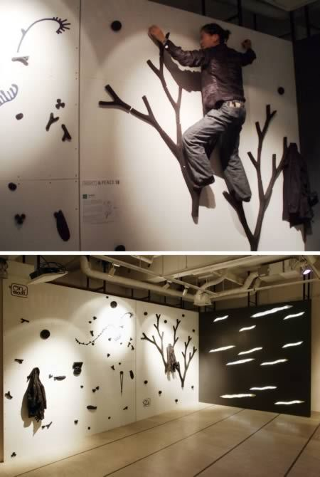 The Coolest Climbing Walls