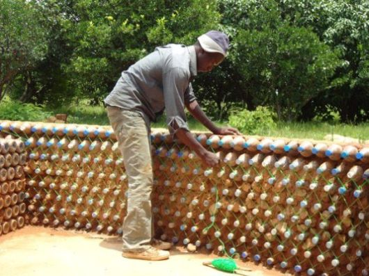 Plastic Bottles Can Solve Homeless People Housing Problem