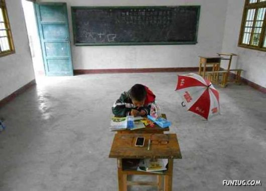 A  School For One Student