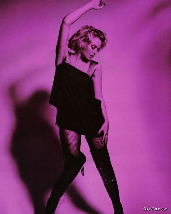 Kylie Minogue Exclusive calendars Shoot