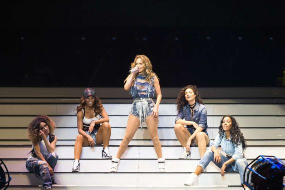 Jennifer Lopez Live At Meydan Racecourse In Dubai