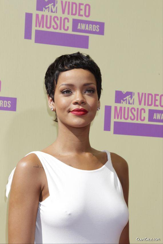 Rihanna Attends MTV Video Music Awards