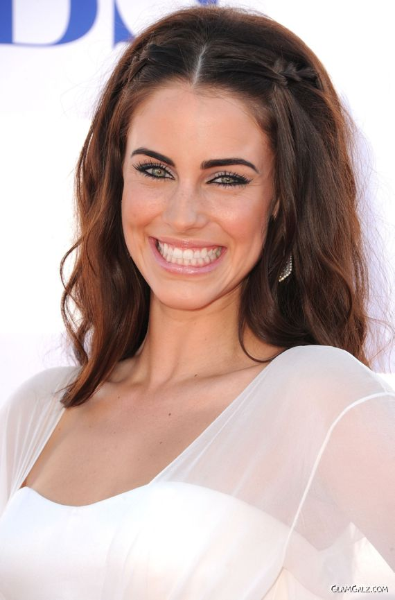 Beautiful Jessica Lowndes In White