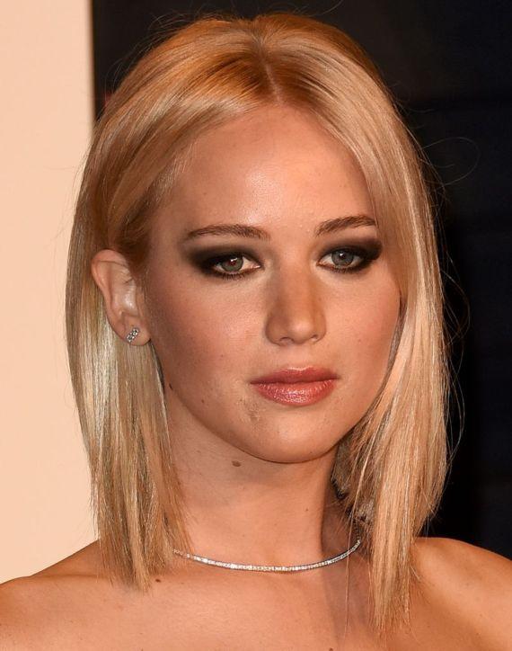 Jennifer Lawrence At Vanity Fair Oscar Party