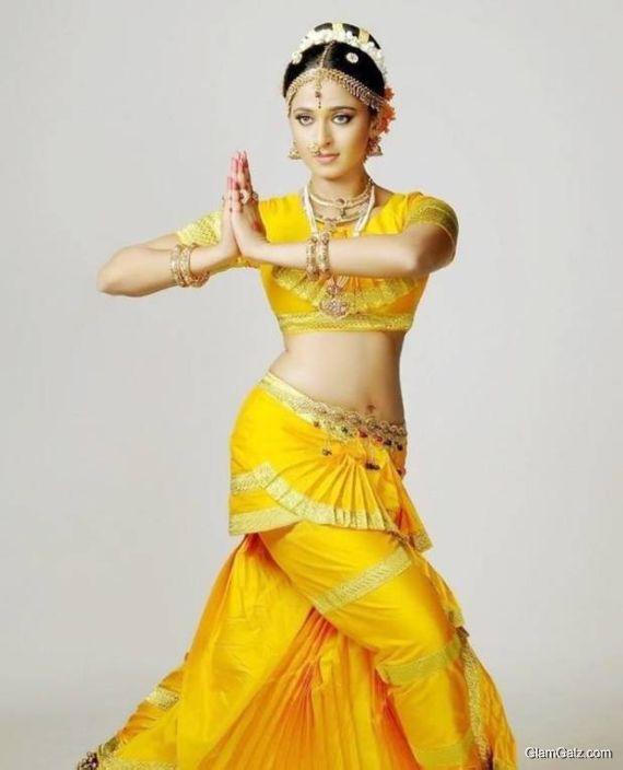 Anushka Shetty's Classical Bharatanatyam Stills