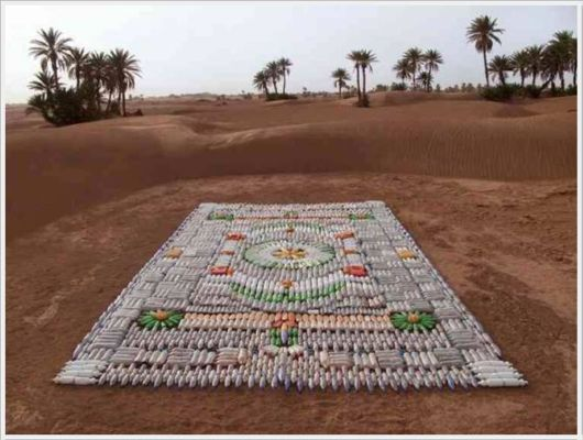 Creative Carpets Made Of Anything